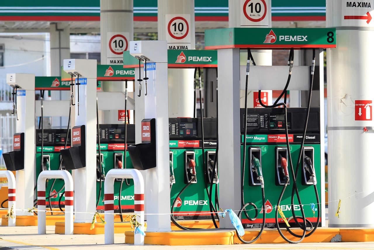 Cae producción de gasolina 42.6% en 2018