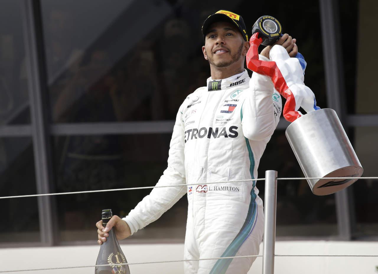Hamilton recupera liderato tras conquistar el GP de Francia