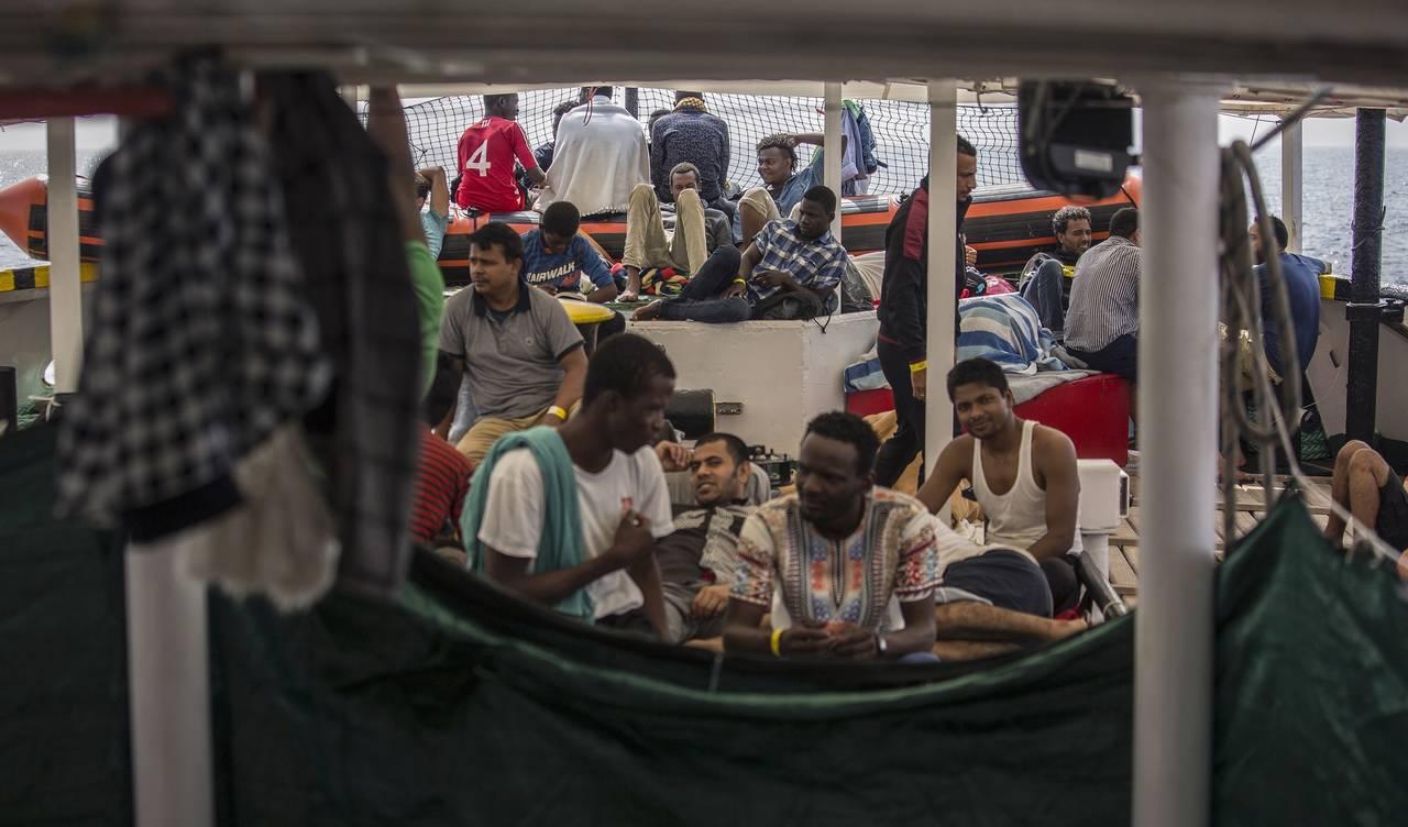 Francia acogerá 132 refugiados