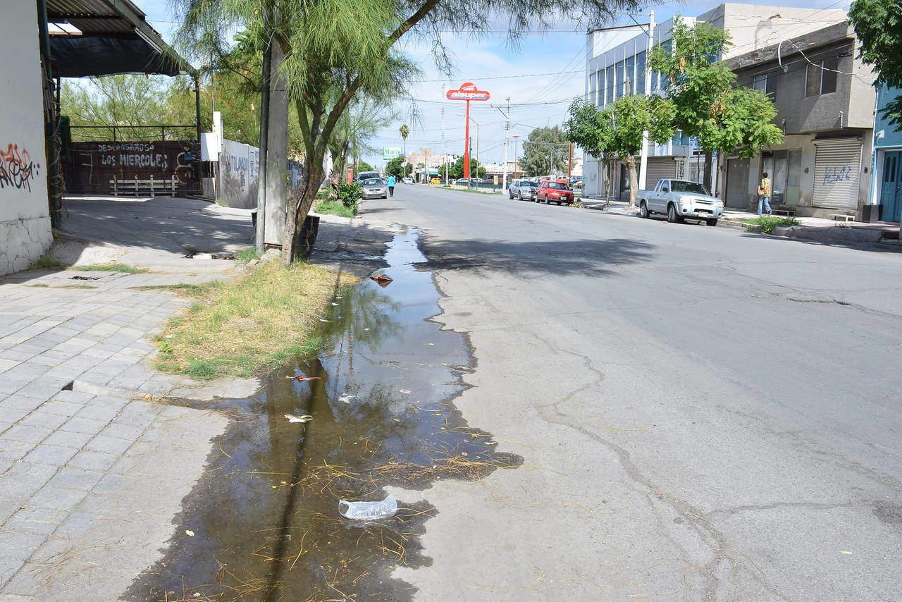 Piden reparar drenaje