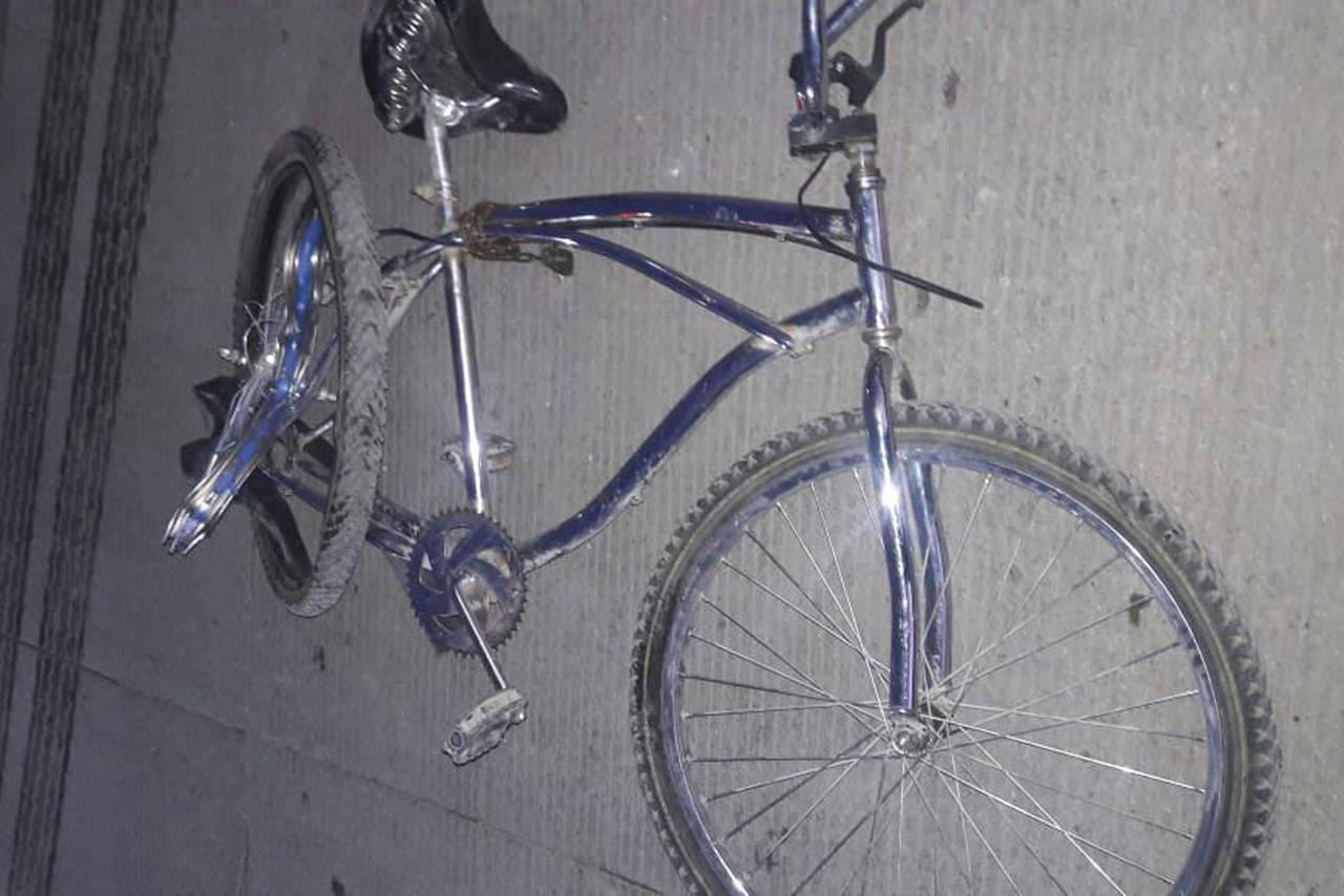 Grave, ciclista arrollado; conductor lo abandonó