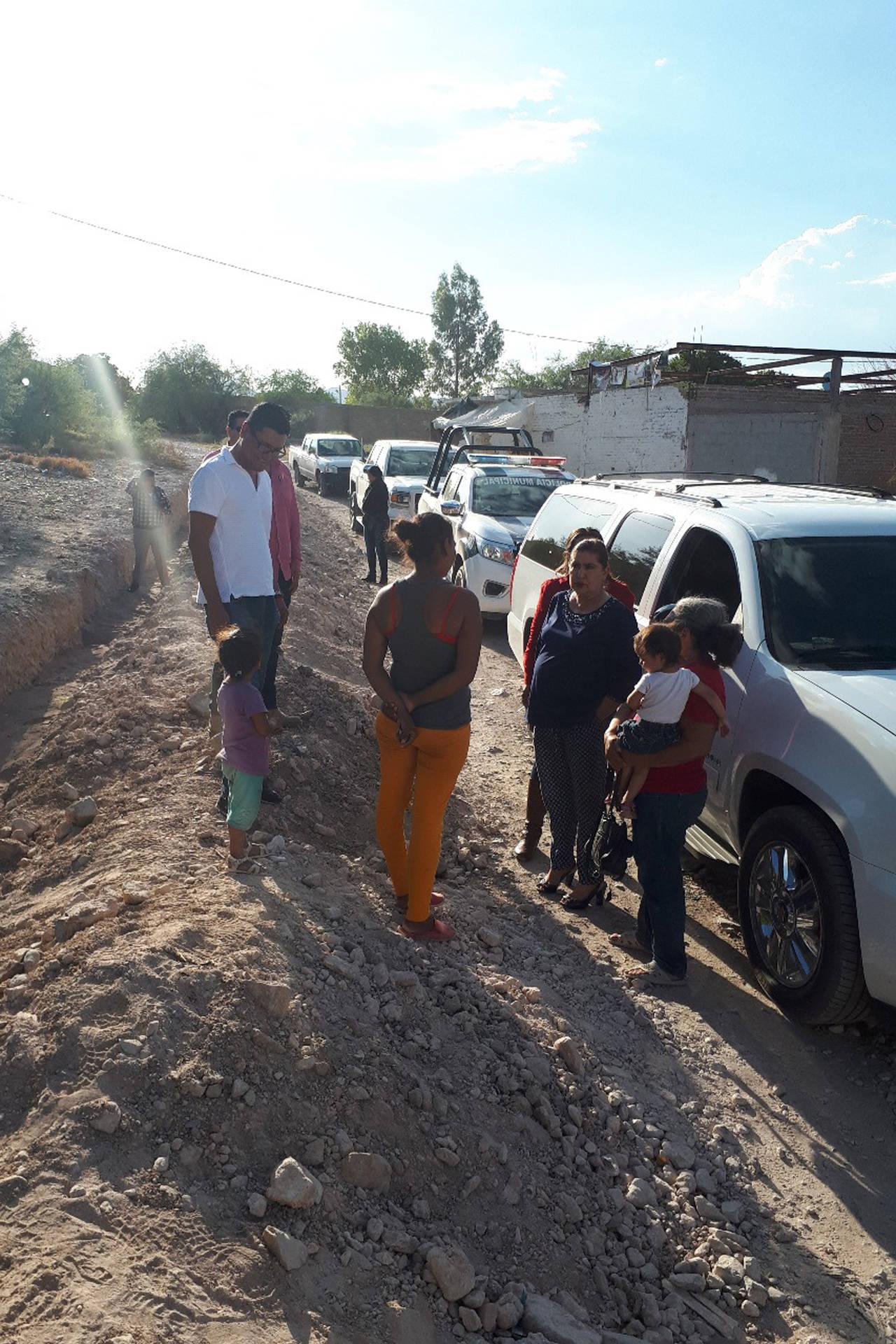 Supervisan obra hídrica en Lerdo