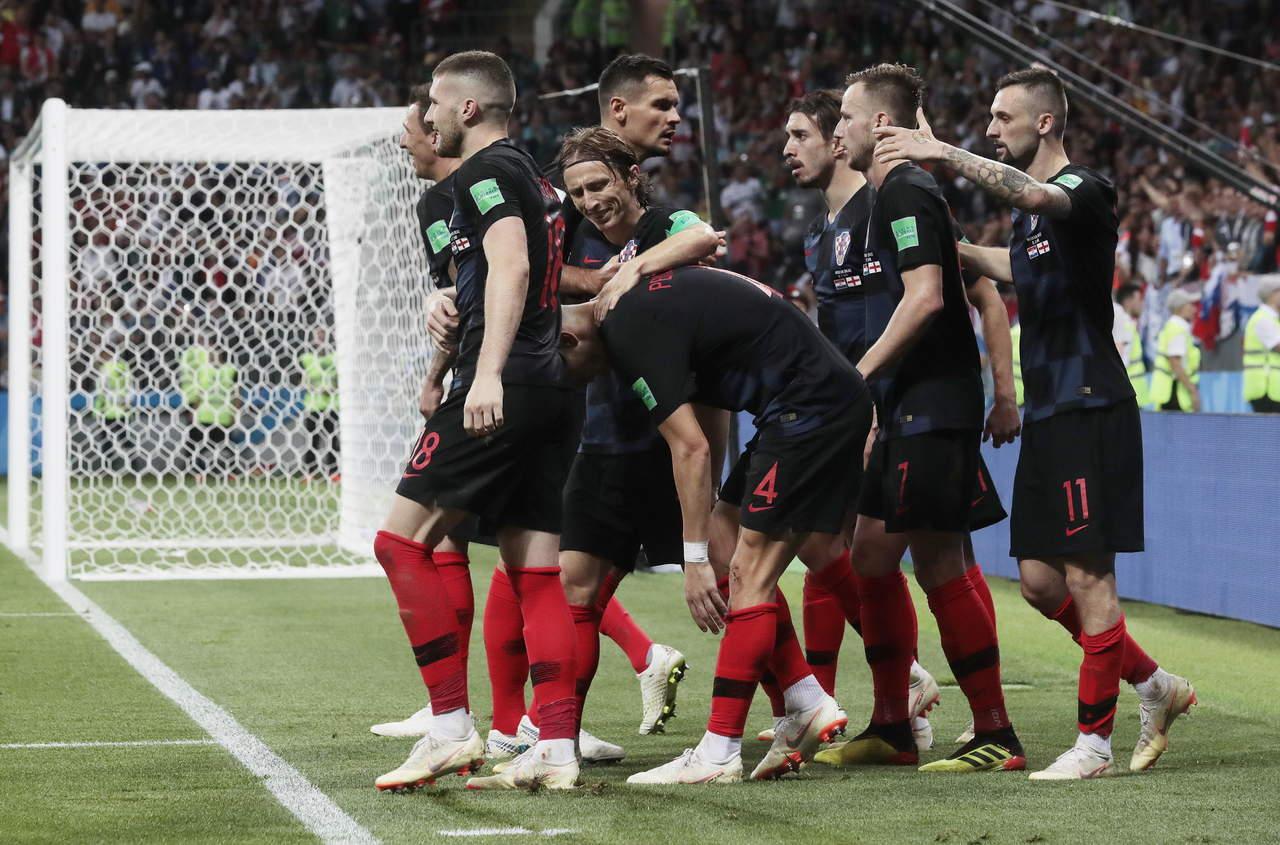 Croacia elimina a Inglaterra y va a la final de Rusia 2018