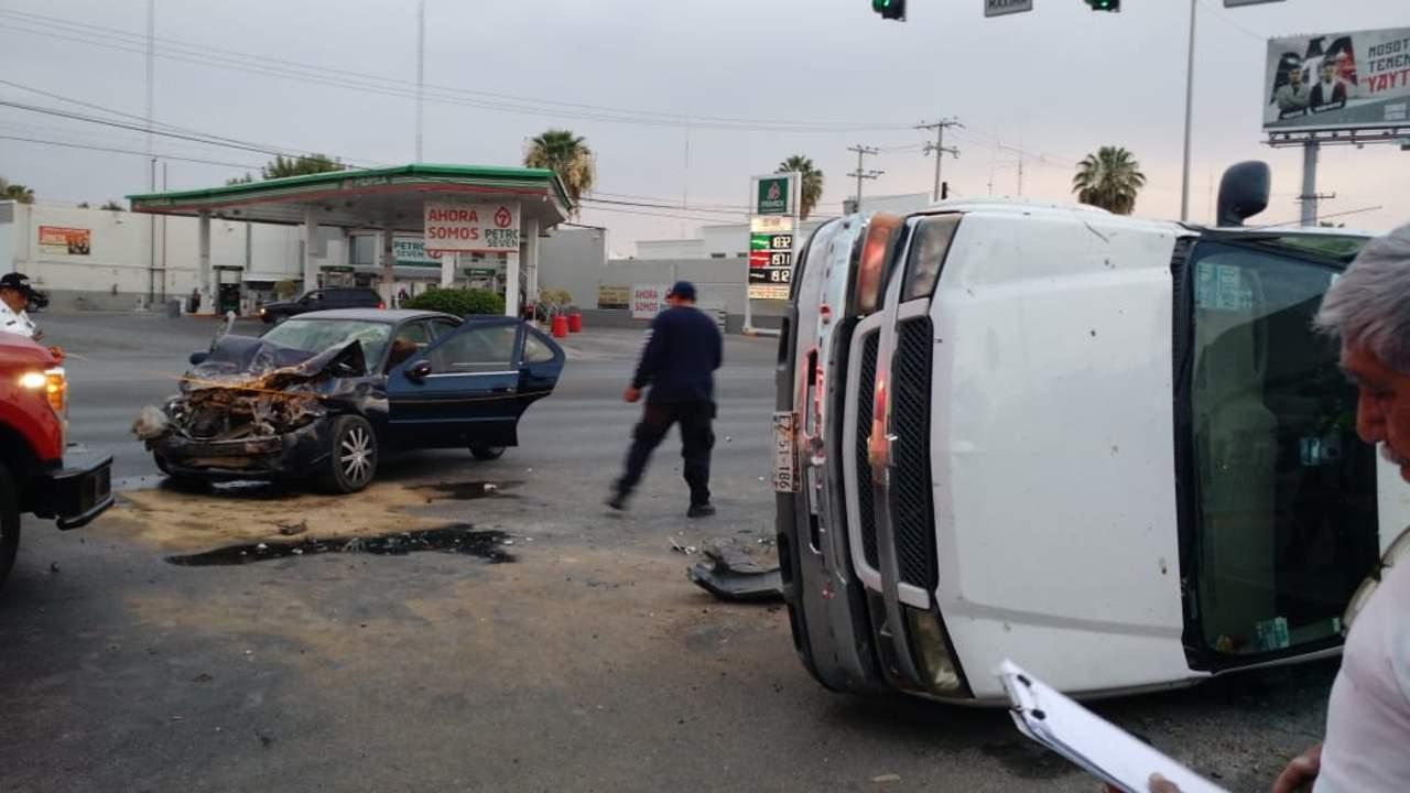 Ocurren 20 accidentes viales al día en Torreón