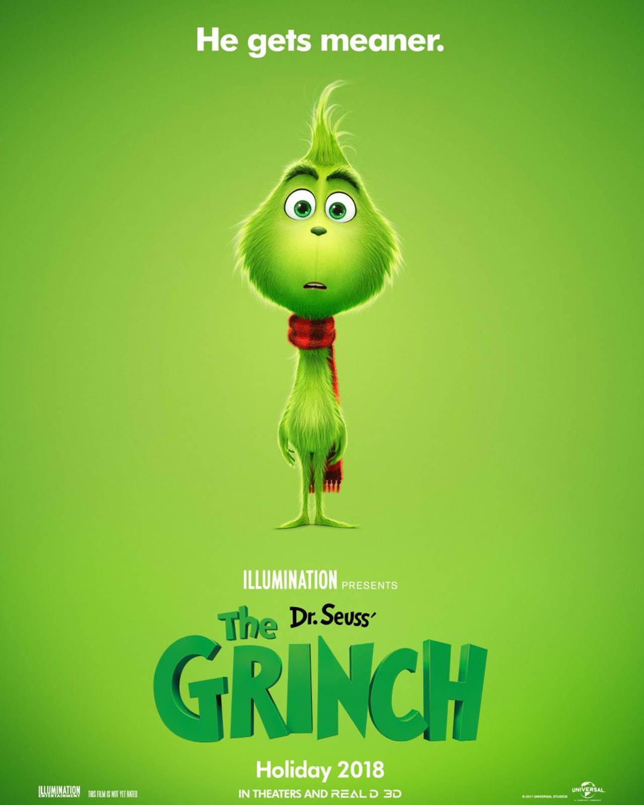 Lanzan póster de El Grinch