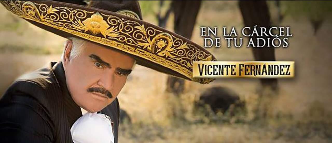 Vicente Fernández estrena su nuevo sencillo