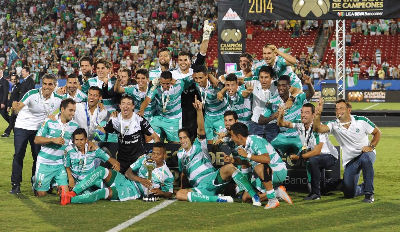 Santos busca su segundo Campeón de Campeones