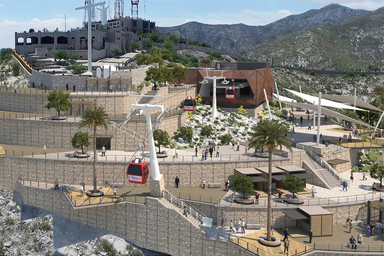 Construyen parque Cerro de las Noas