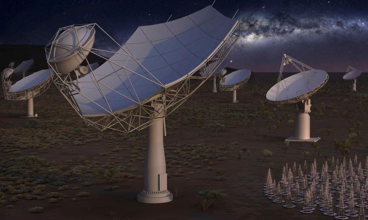 SKA, un telescopio para escudriñar el origen del universo
