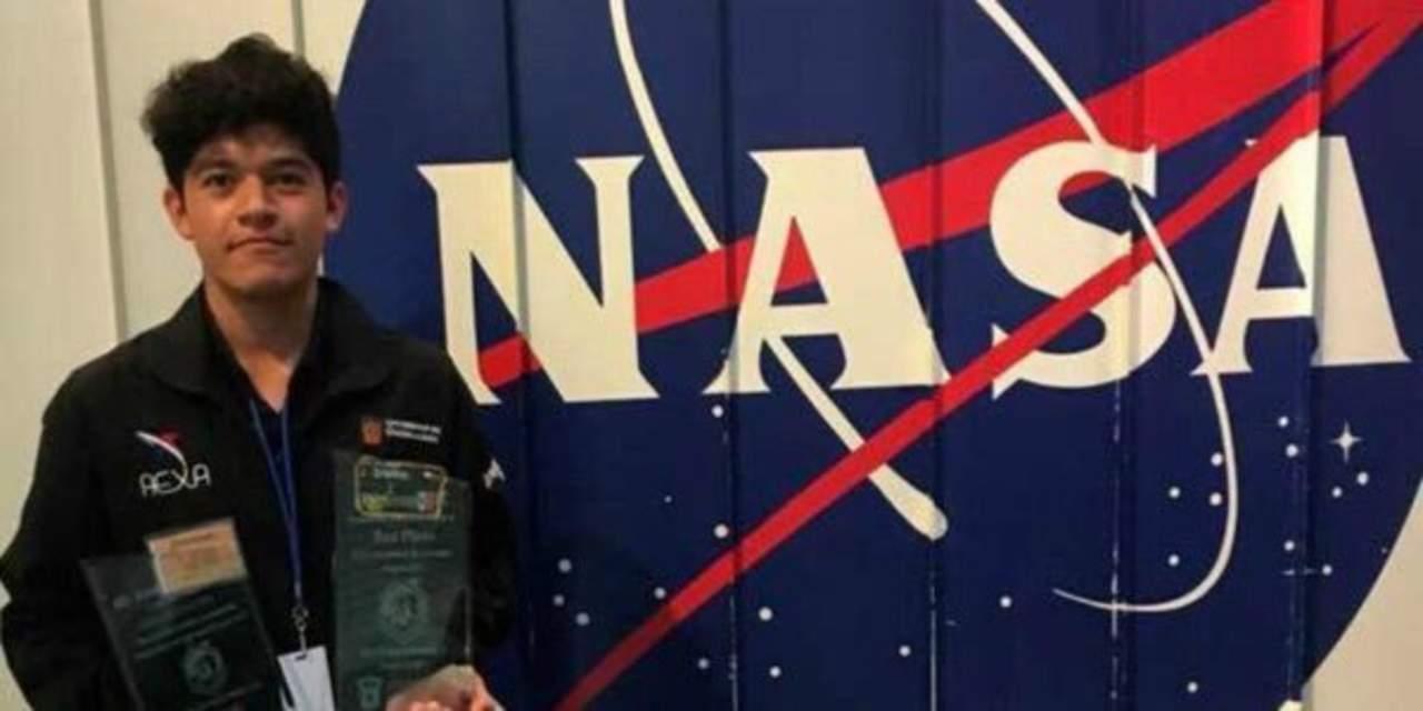 NASA selecciona a mexicano para programa internacional