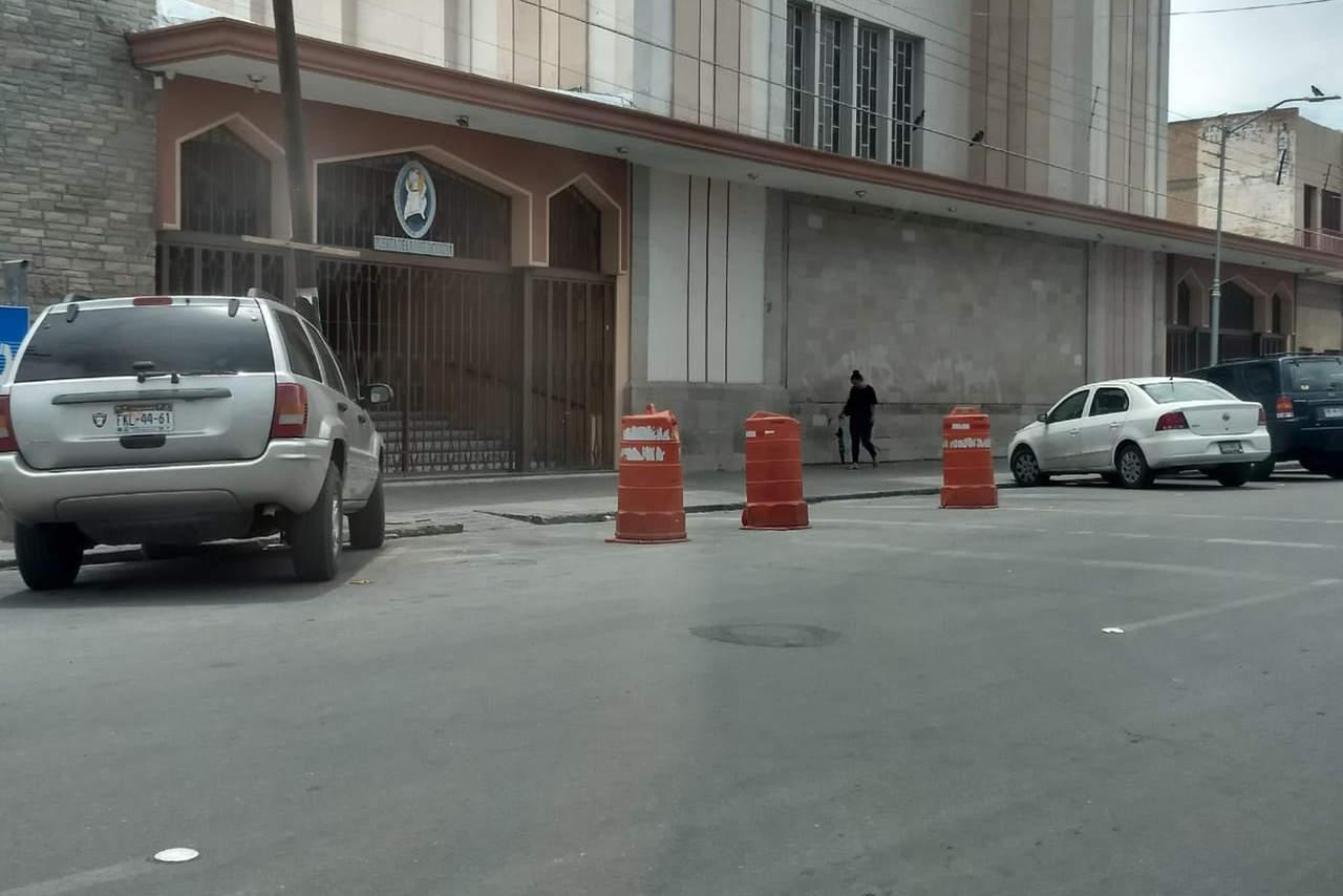 Apartan estacionamiento