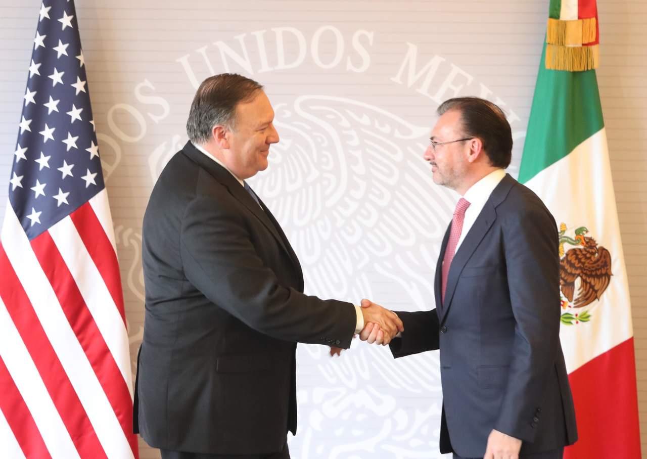 Pompeo y Videgaray coinciden en importancia de pacto sobre TLCAN