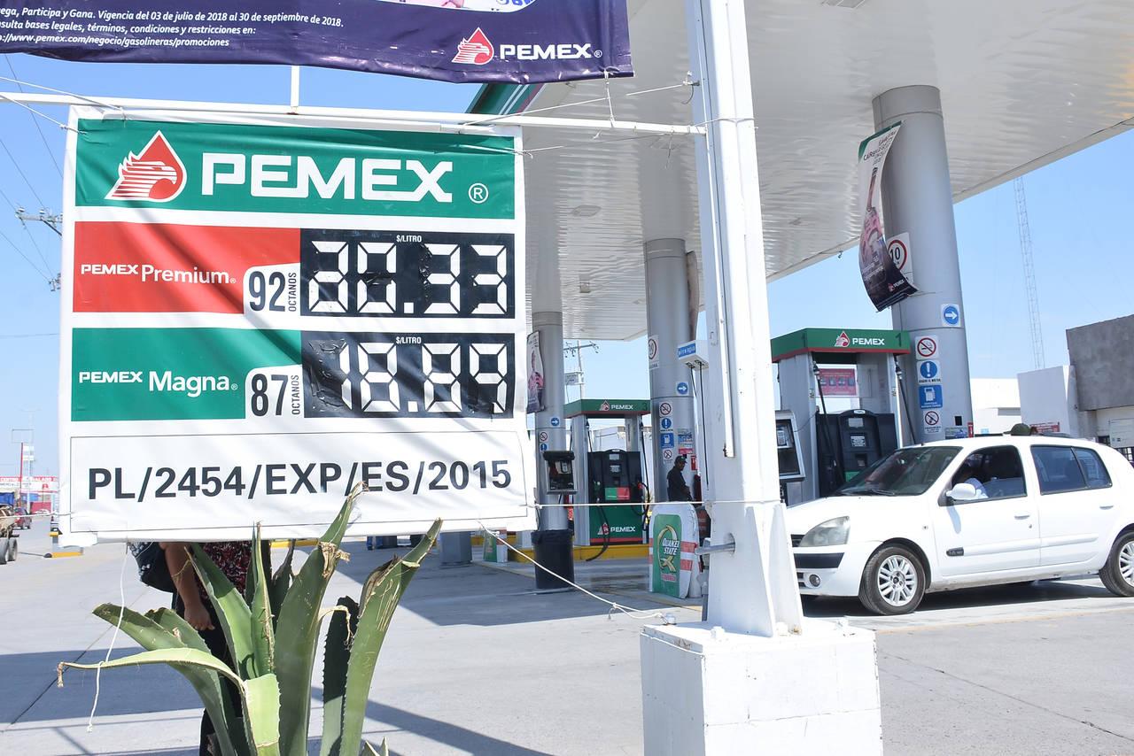 Gasolina impulsa inflación