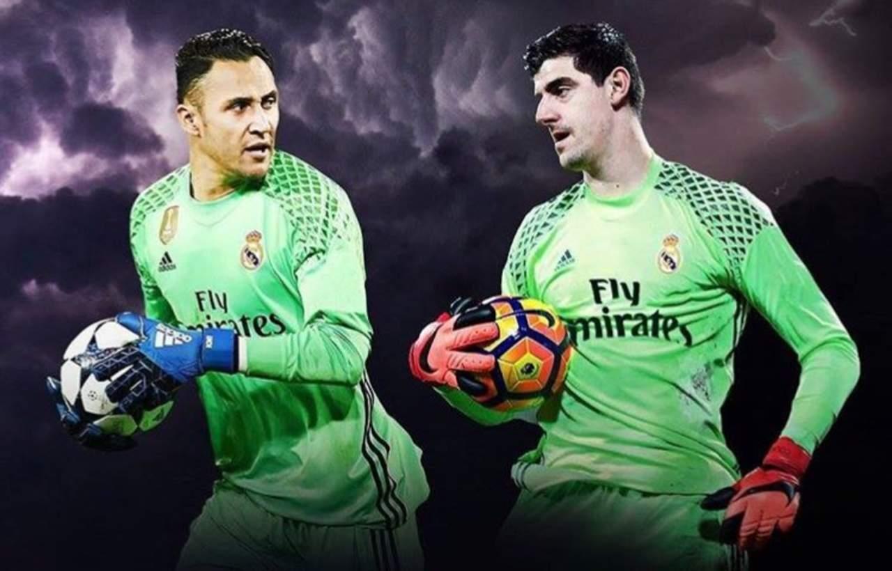 ¿Courtois o Navas?, el dilema del Real Madrid