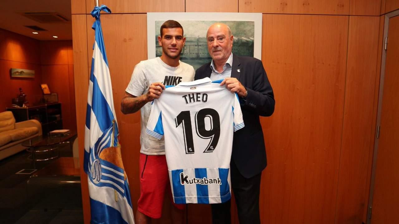 Theo es cedido por Real Madrid a la Real Sociedad