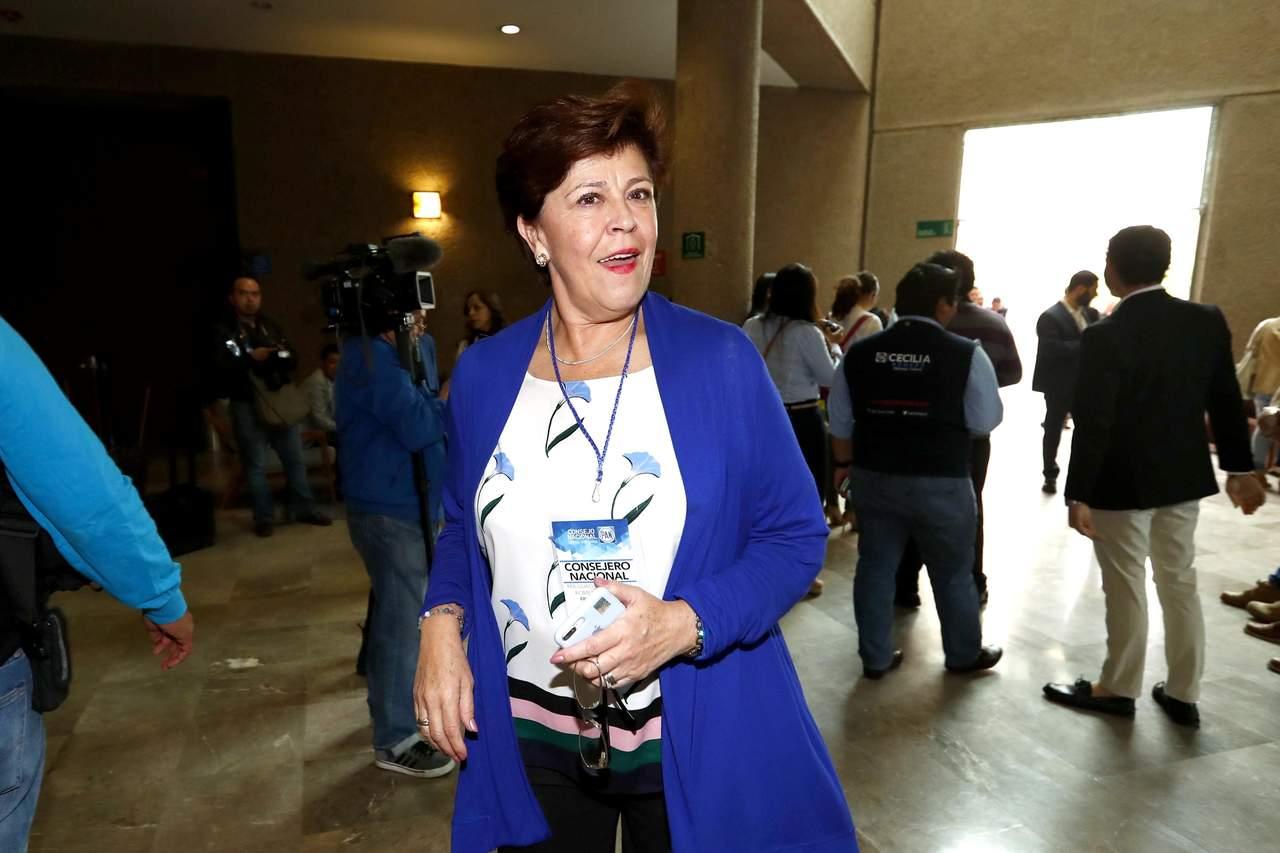 Cecilia Romero promete imparcialidad para elección en el PAN
