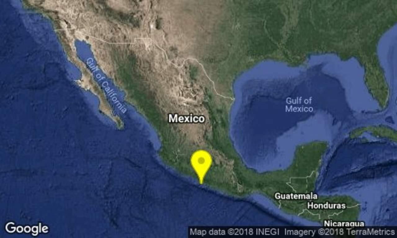 Se registra sismo de 5.2 grados en Tecpan, Guerrero