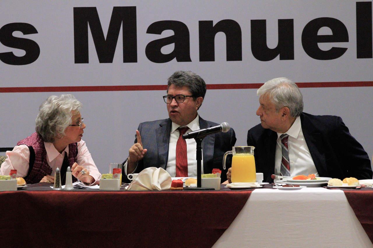 Plantea Monreal recorte presupuestal de 30% al Senado
