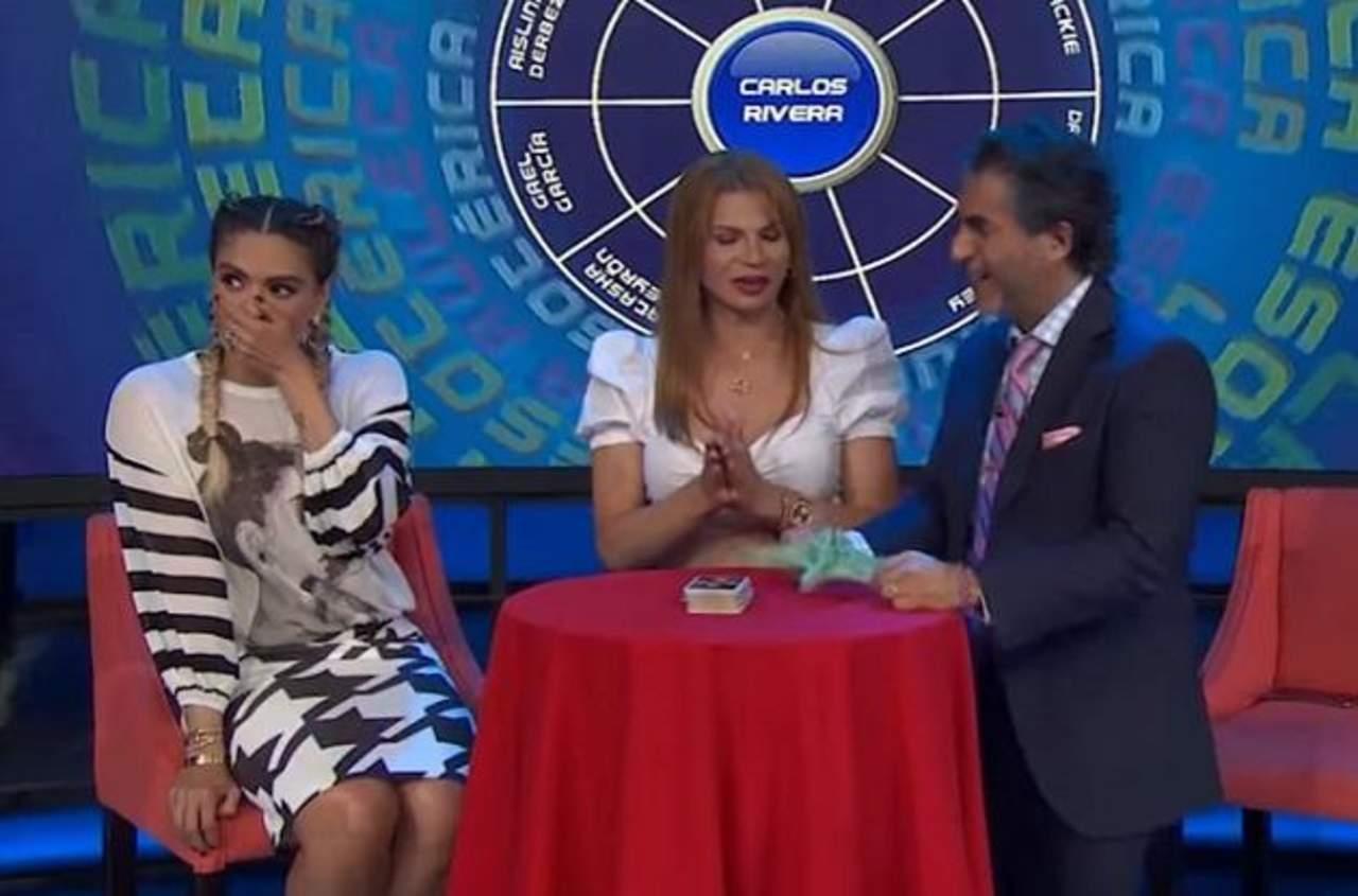 VIDEO: Se le sale una grosería en vivo a Galilea Montijo