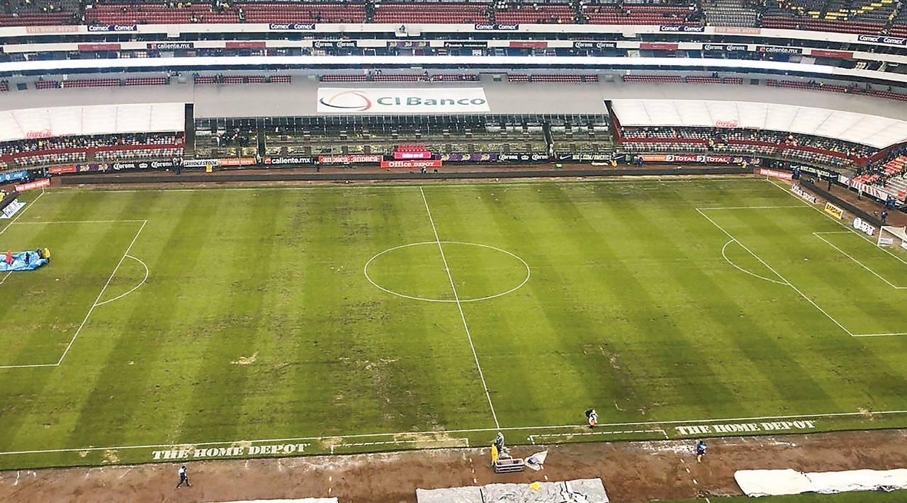 Estadio Azteca tendrá mejoría en cancha para septiembre