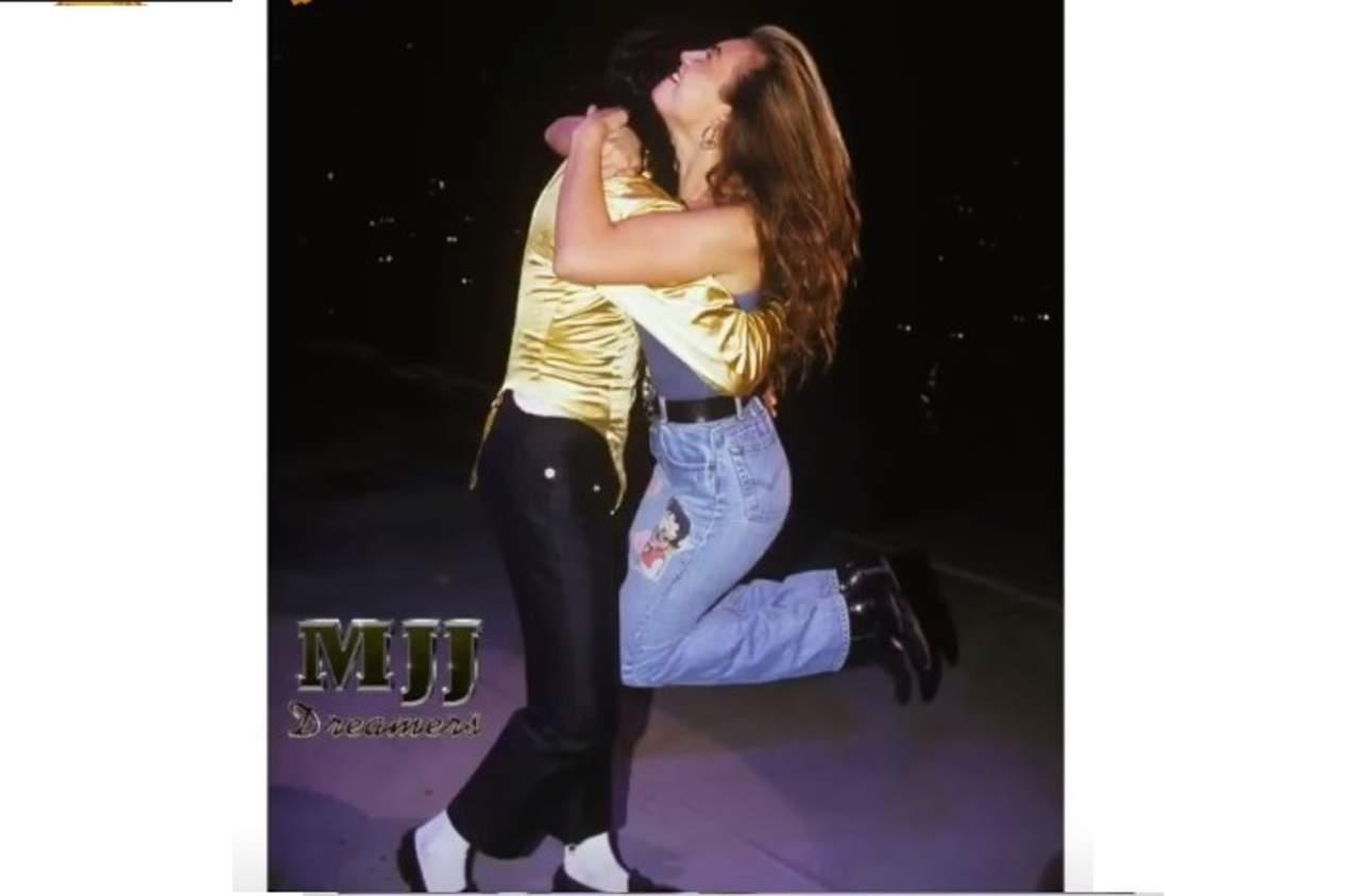 El día que Thalía se coló al escenario con Michael Jackson