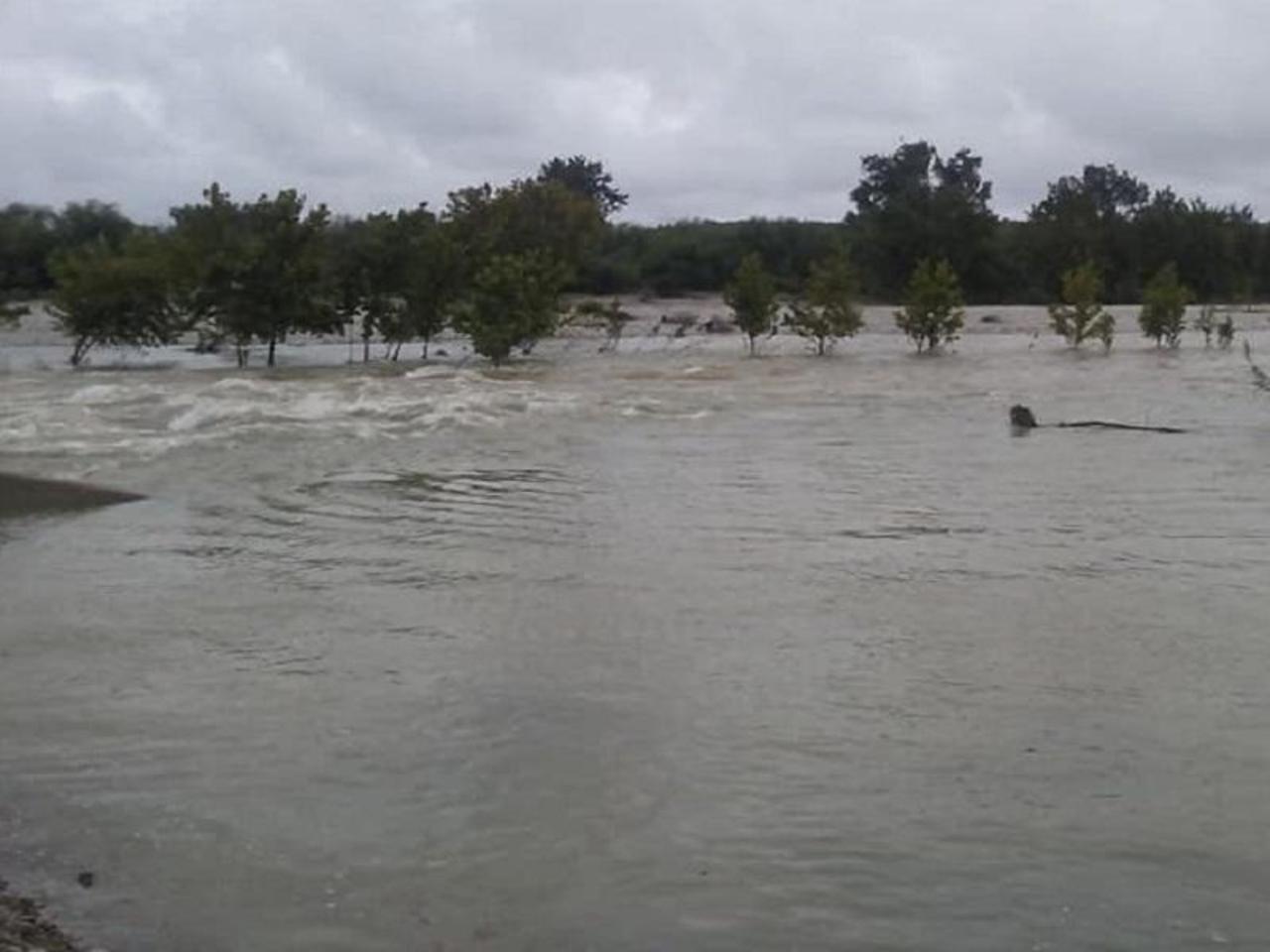 Alertan por aumento en cauce del Río San Rodrigo