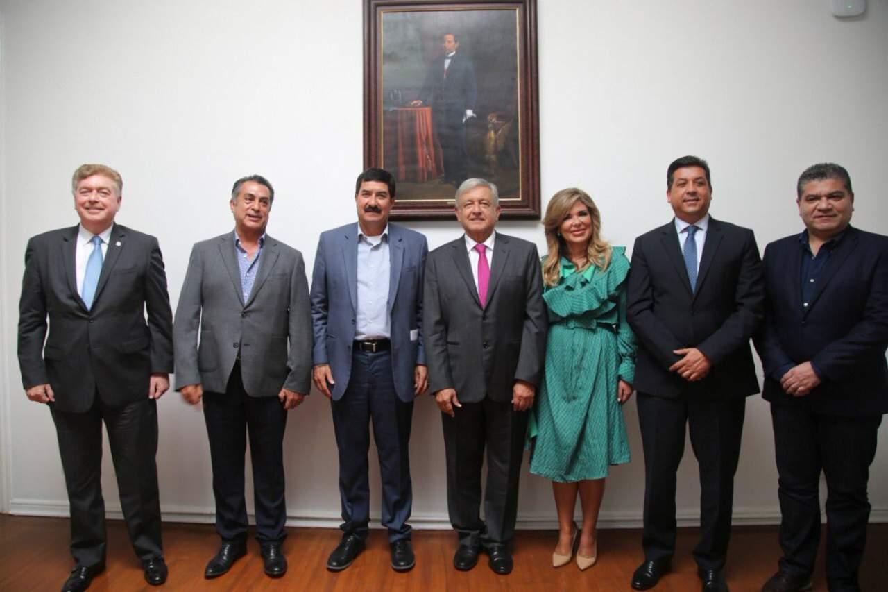 López Obrador plantea a gobernadores blindar plan fronterizo