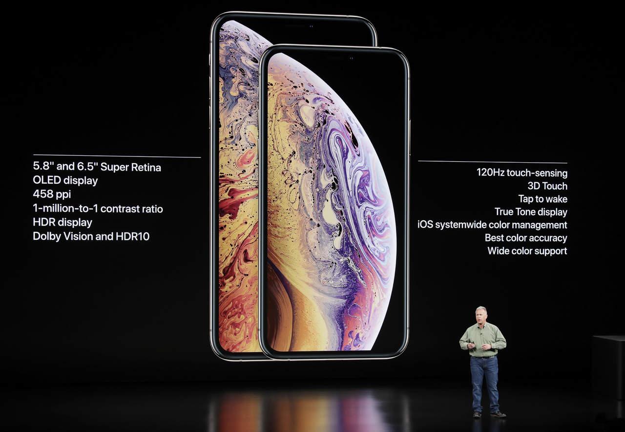 Apple presenta los iPhone XS, XS Max y XR