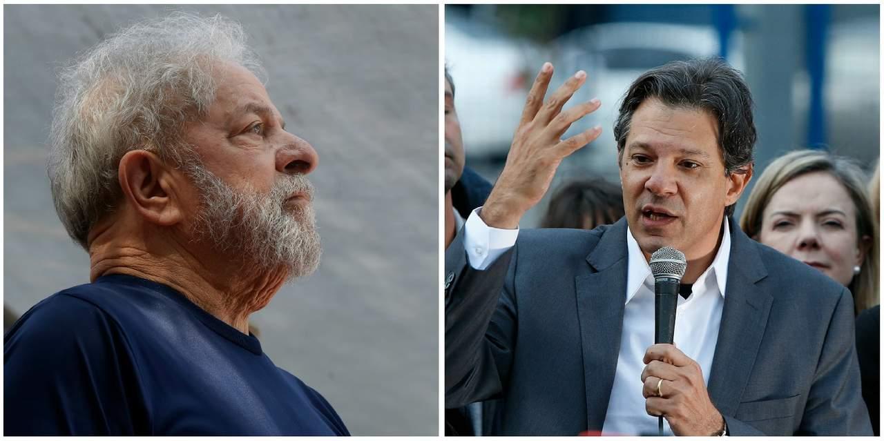 Será difícil corregir errores del actual Gobierno: Lula a Haddad