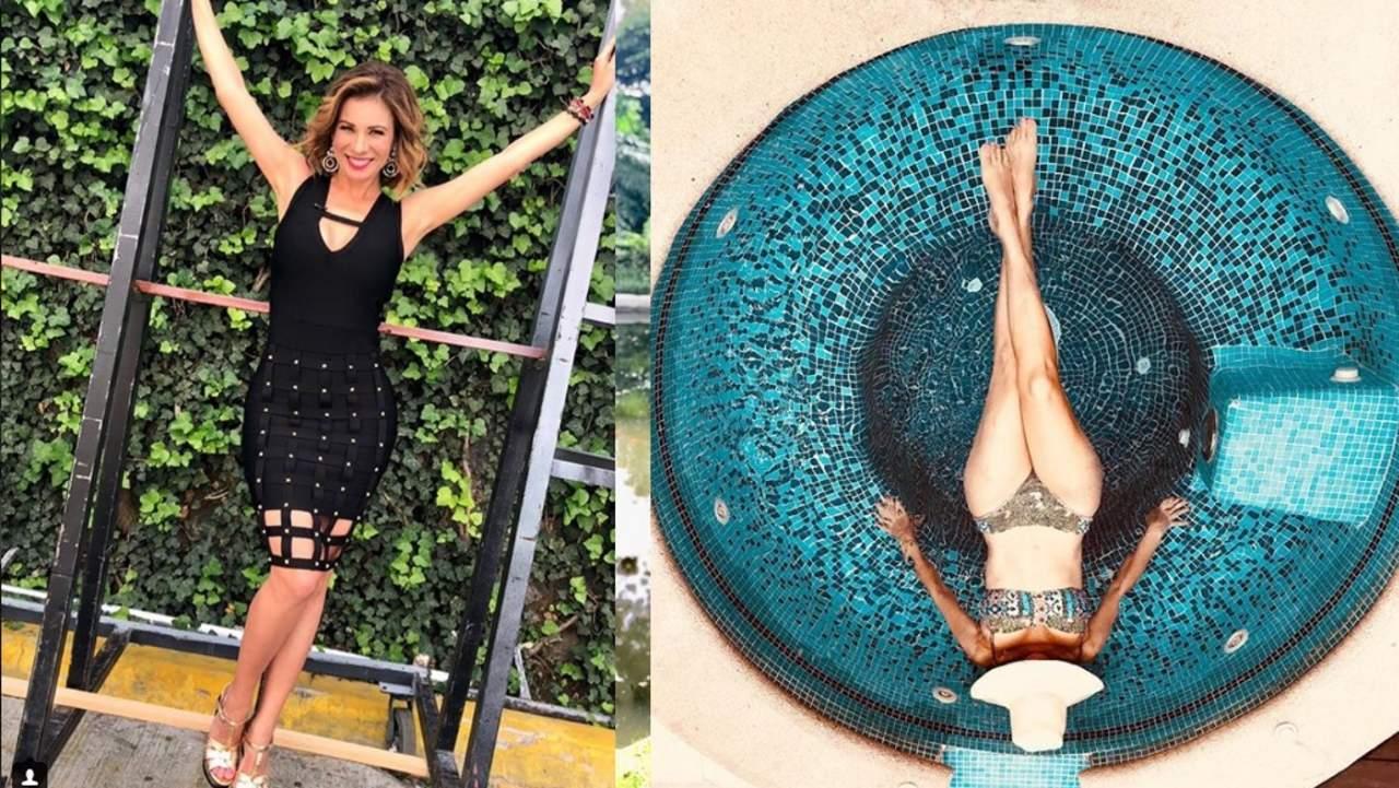 Ingrid Coronado cautiva en redes con su figura