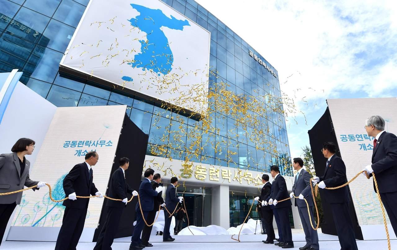 Coreas abren su primera oficina de enlace