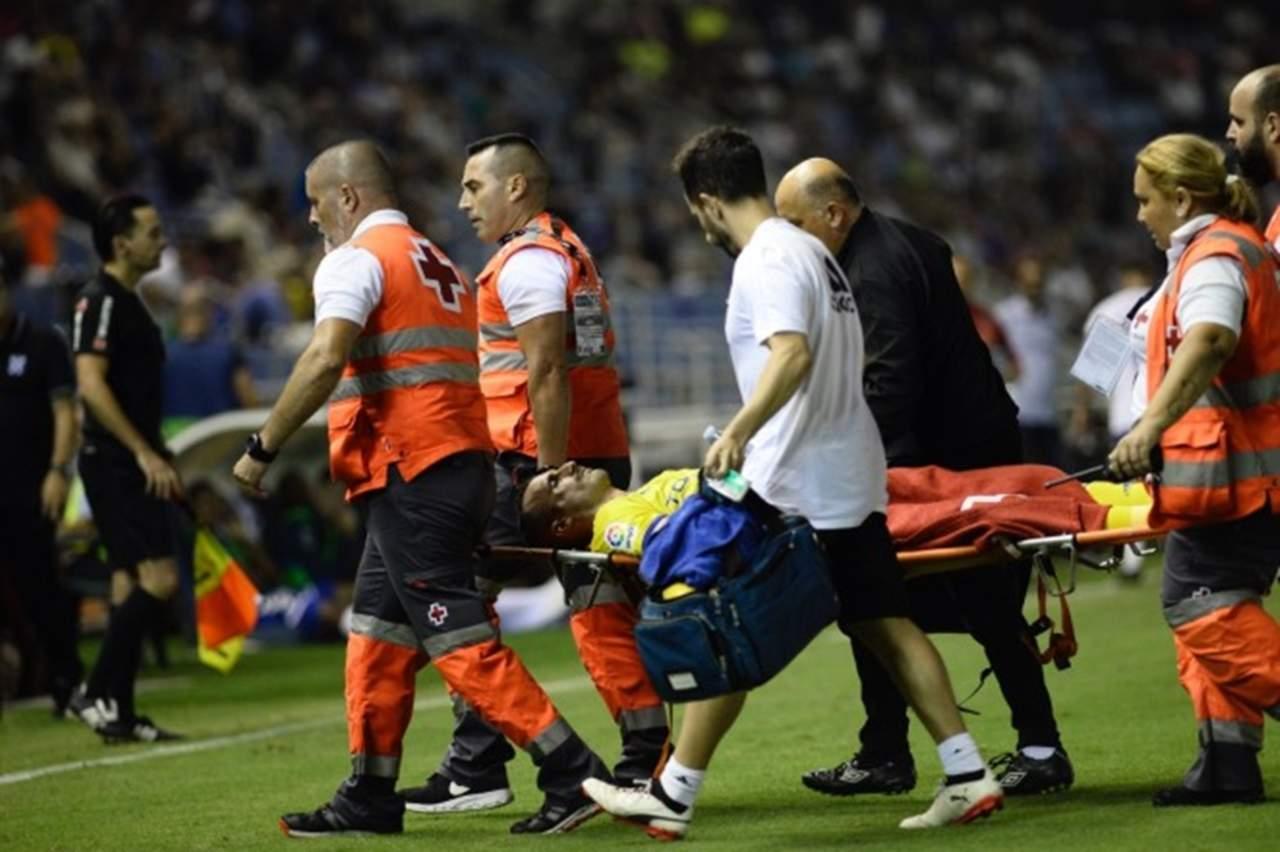 VIDEO: Jugador sufre fractura facial por cabezazo