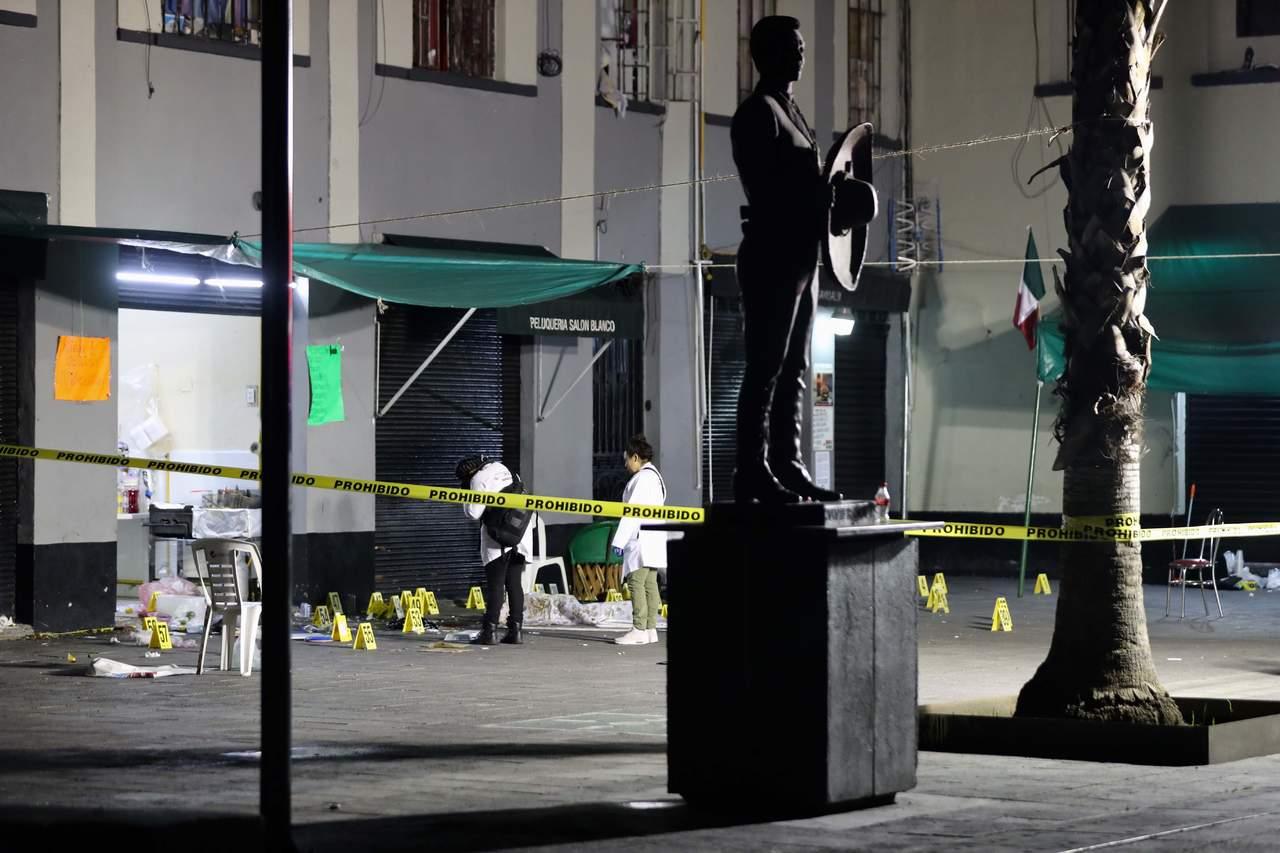 Captan en videos momento de la balacera en Garibaldi