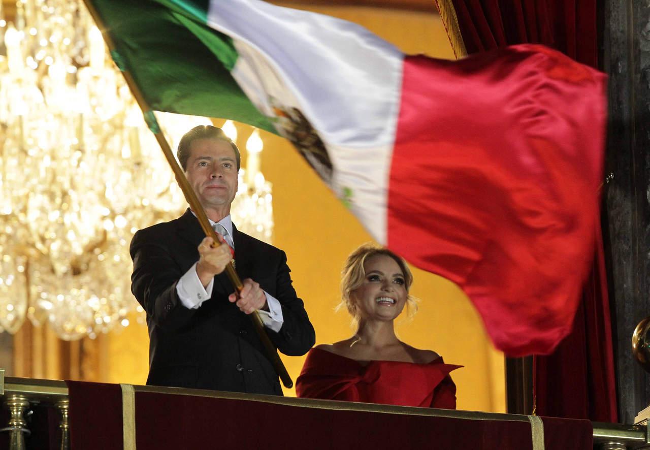 EPN da su último Grito de Independencia como presidente