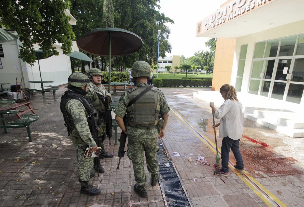 Jefe policial de Sinaloa repelió agresión en la UAS, revelan