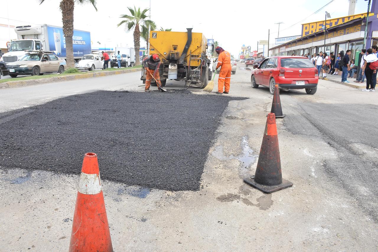 Invertirá Torreón 25 mdp extra en pavimentación