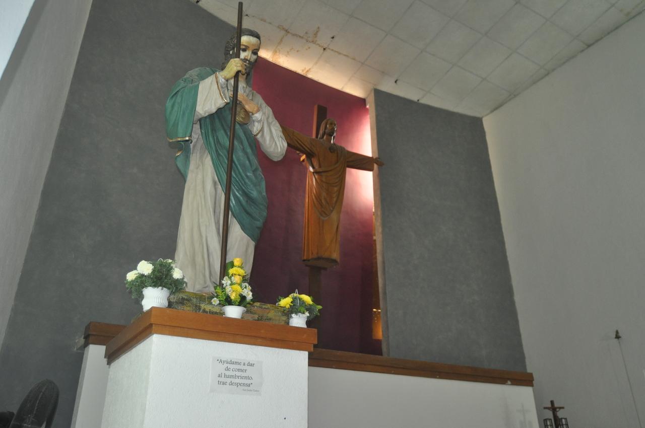 Parroquia de San Judas Tadeo alista sus fiestas