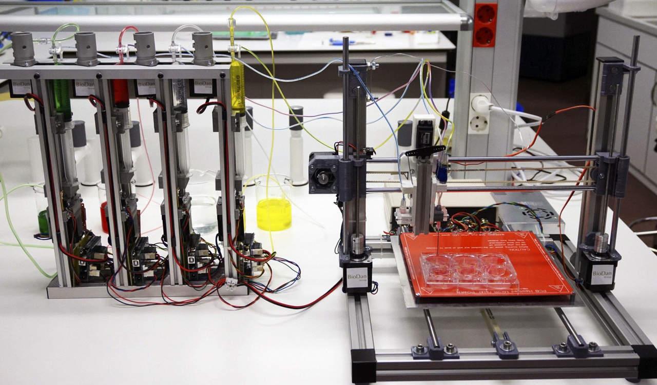 Imprimirán tejido humano en la Estación Espacial
