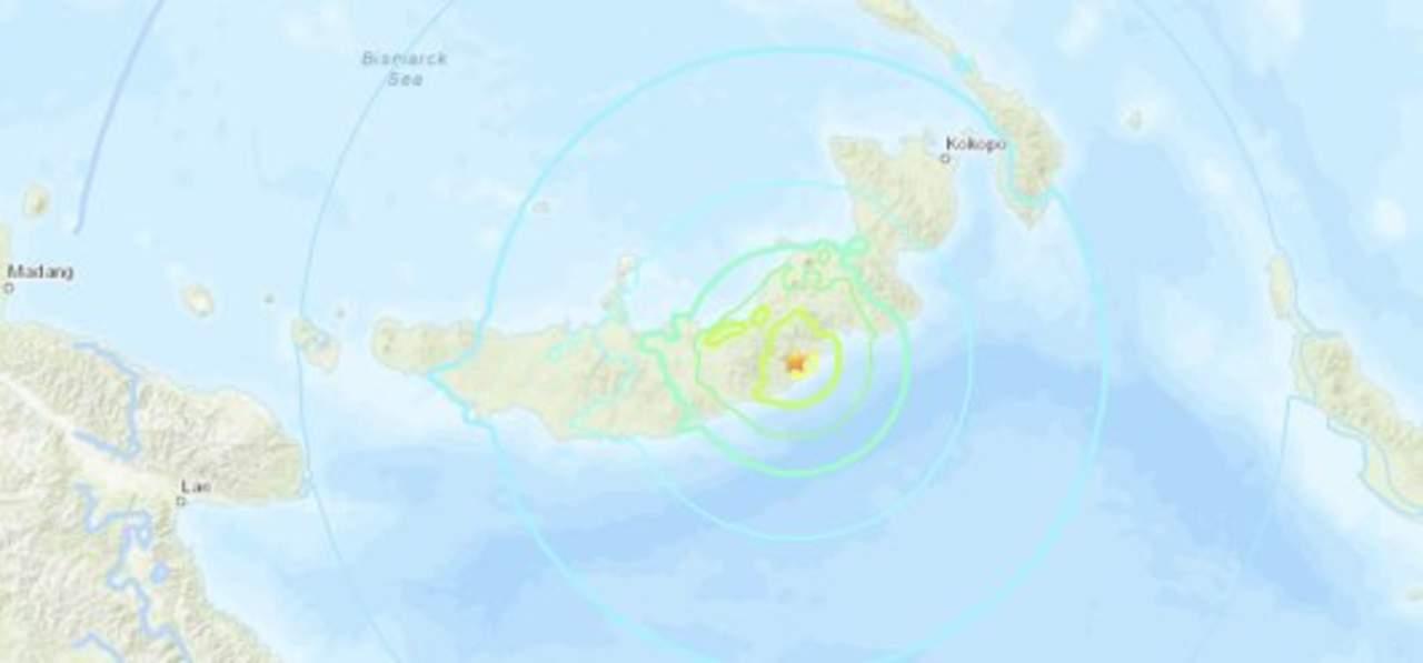Sismo de 7.0 grados genera alerta de tsunami en Papúa Nueva Guinea