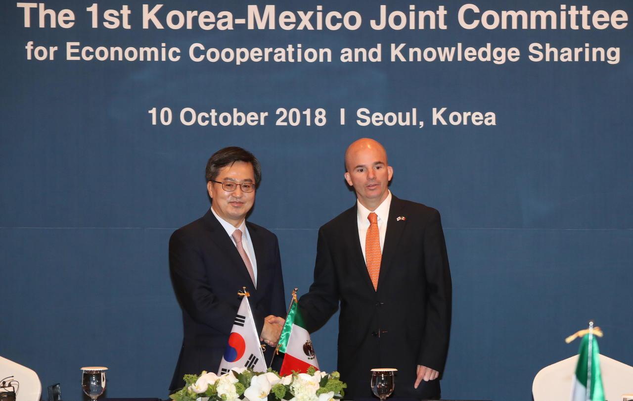 Corea y México logran acuerdo