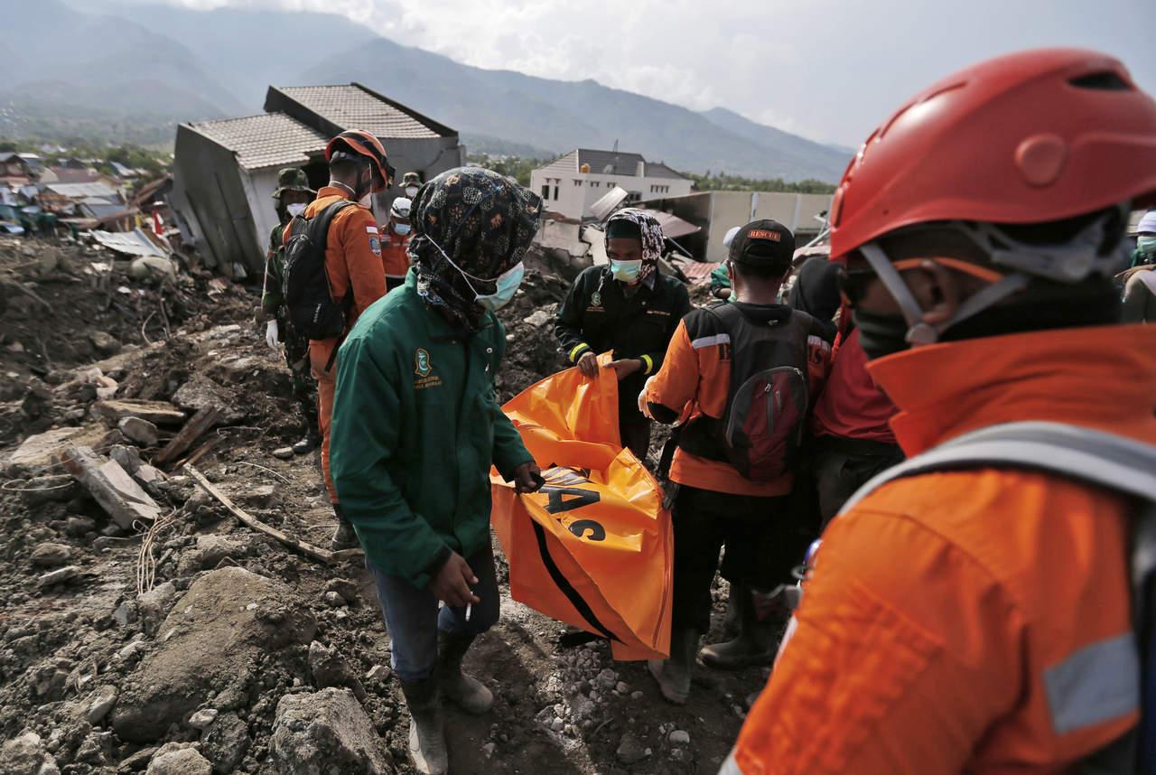 A dos semanas del sismo, Indonesia concluye búsqueda de sobrevivientes