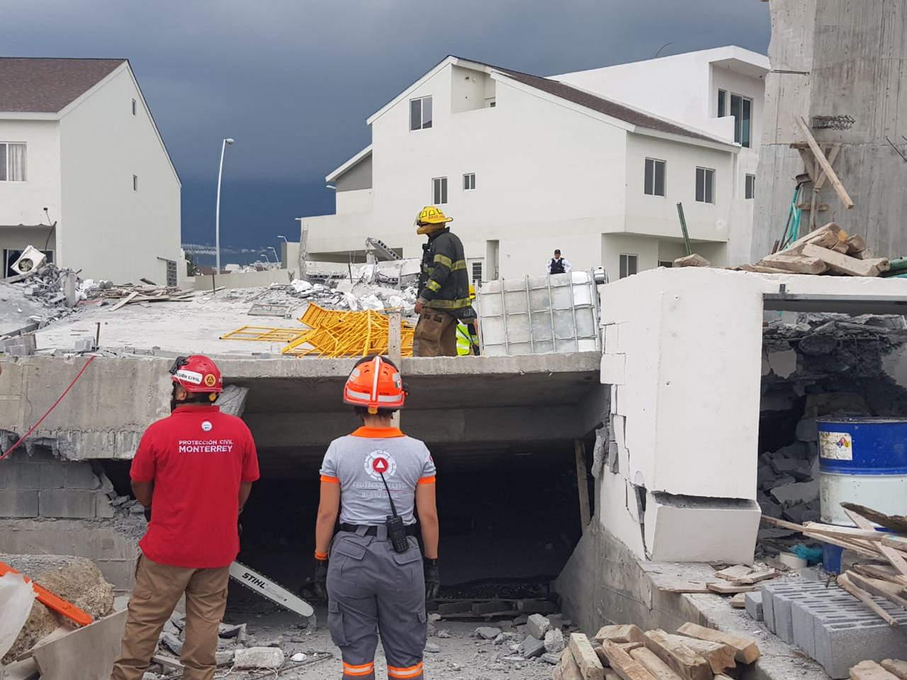 Se eleva a 7 el número de muertos por derrumbe en Monterrey