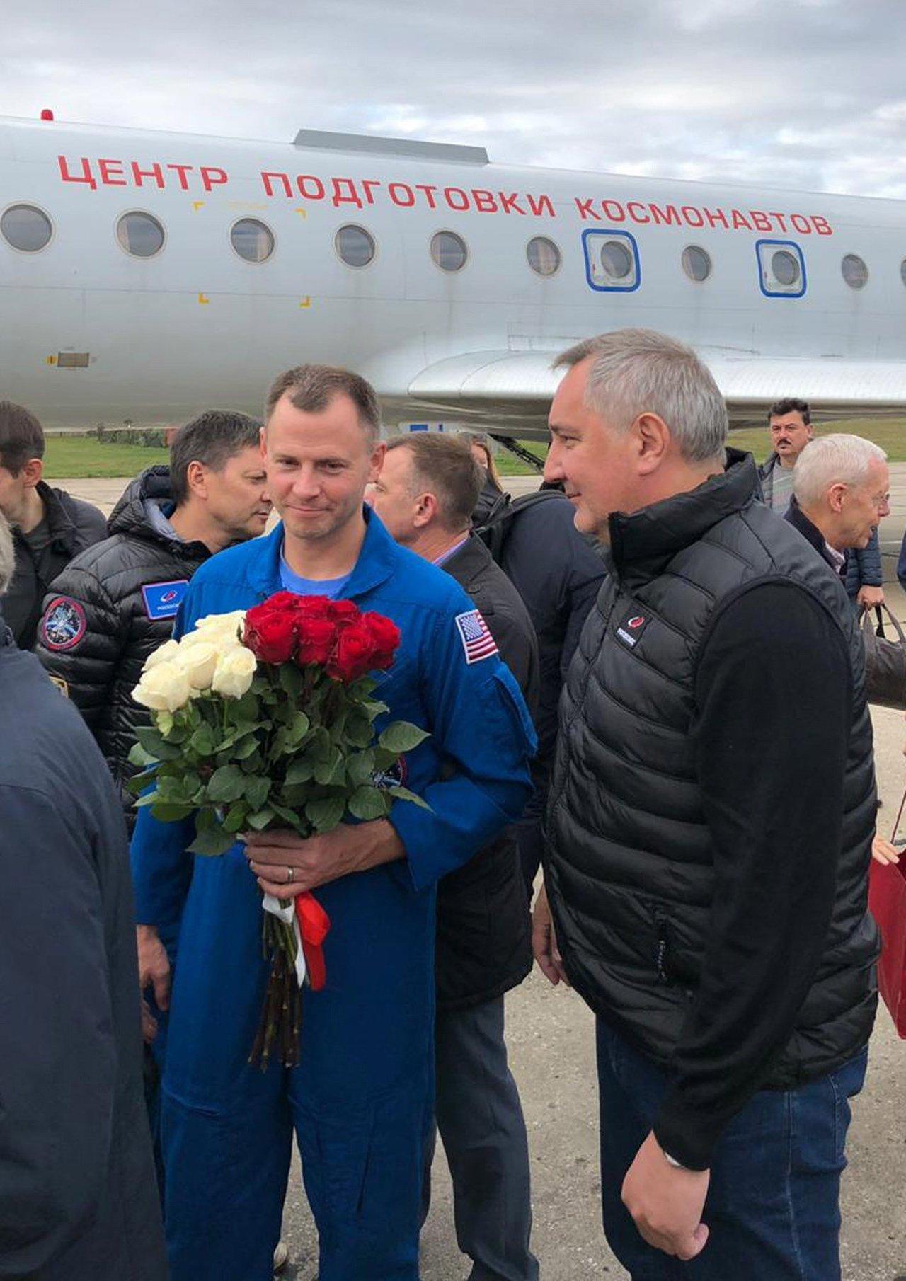 Astronauta agradece apoyo ante avería