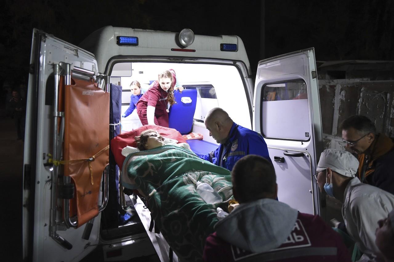 Estudiante mata a 19 personas en Crimea
