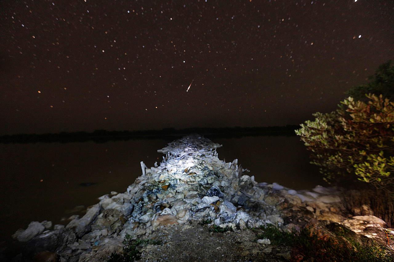 Próximo domingo, lluvia de estrellas asociadas al paso del cometa Halley