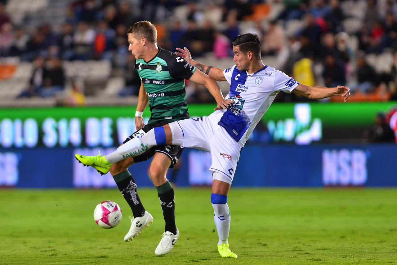 Furch rescata el empate y Santos Laguna reparte puntos con Tuzos