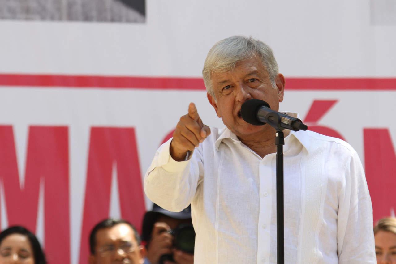 Descarta AMLO problemas si no se construye aeropuerto en Texcoco
