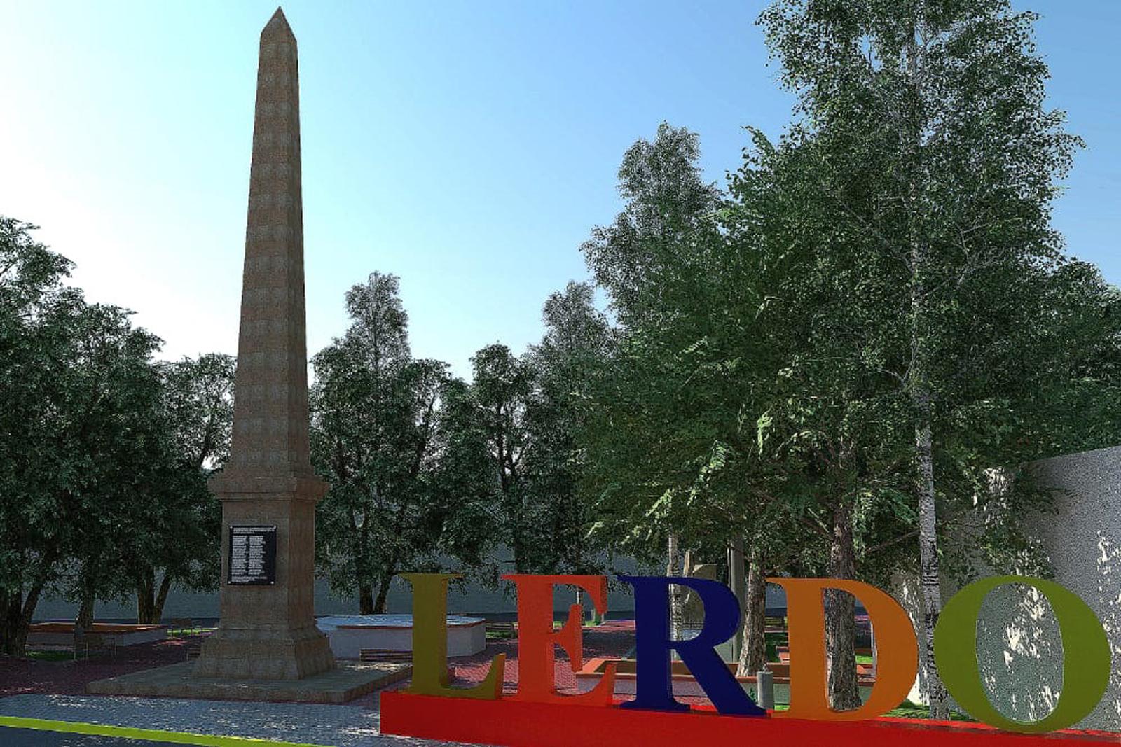 Obelisco en Lerdo medirá 17 metros de altura