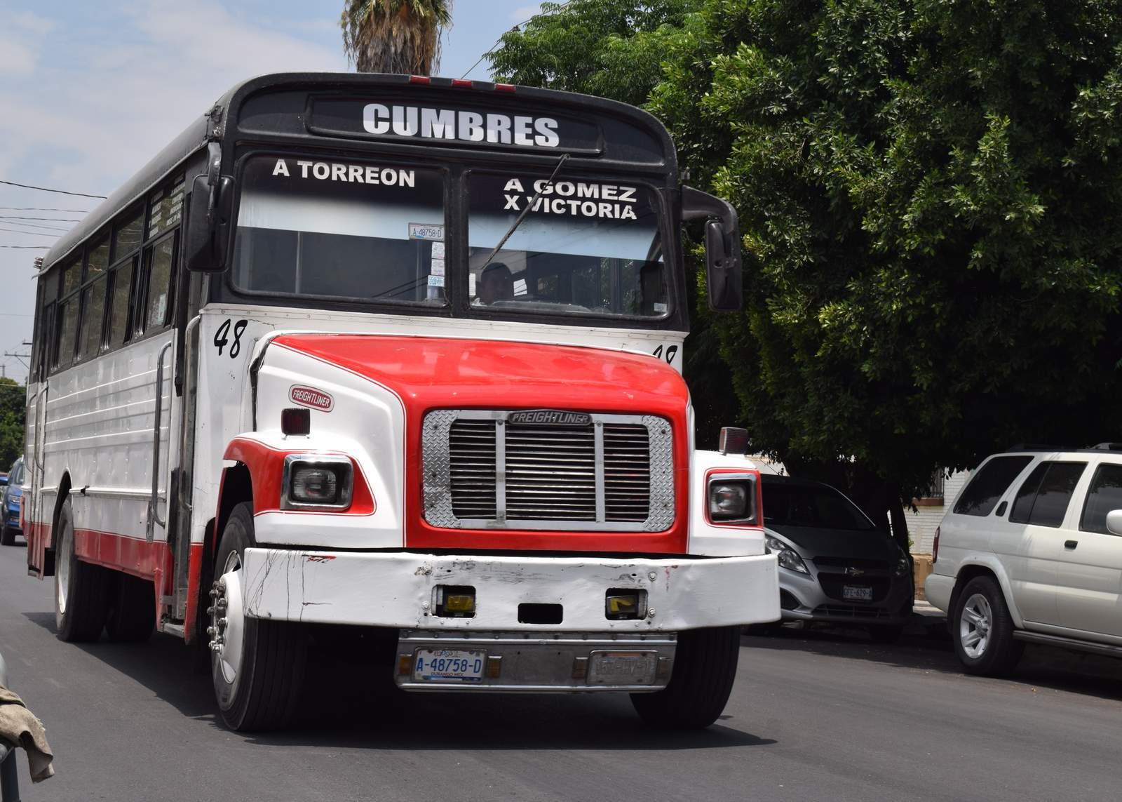 Aumento en tarifas de transporte se aplicará hasta el miércoles