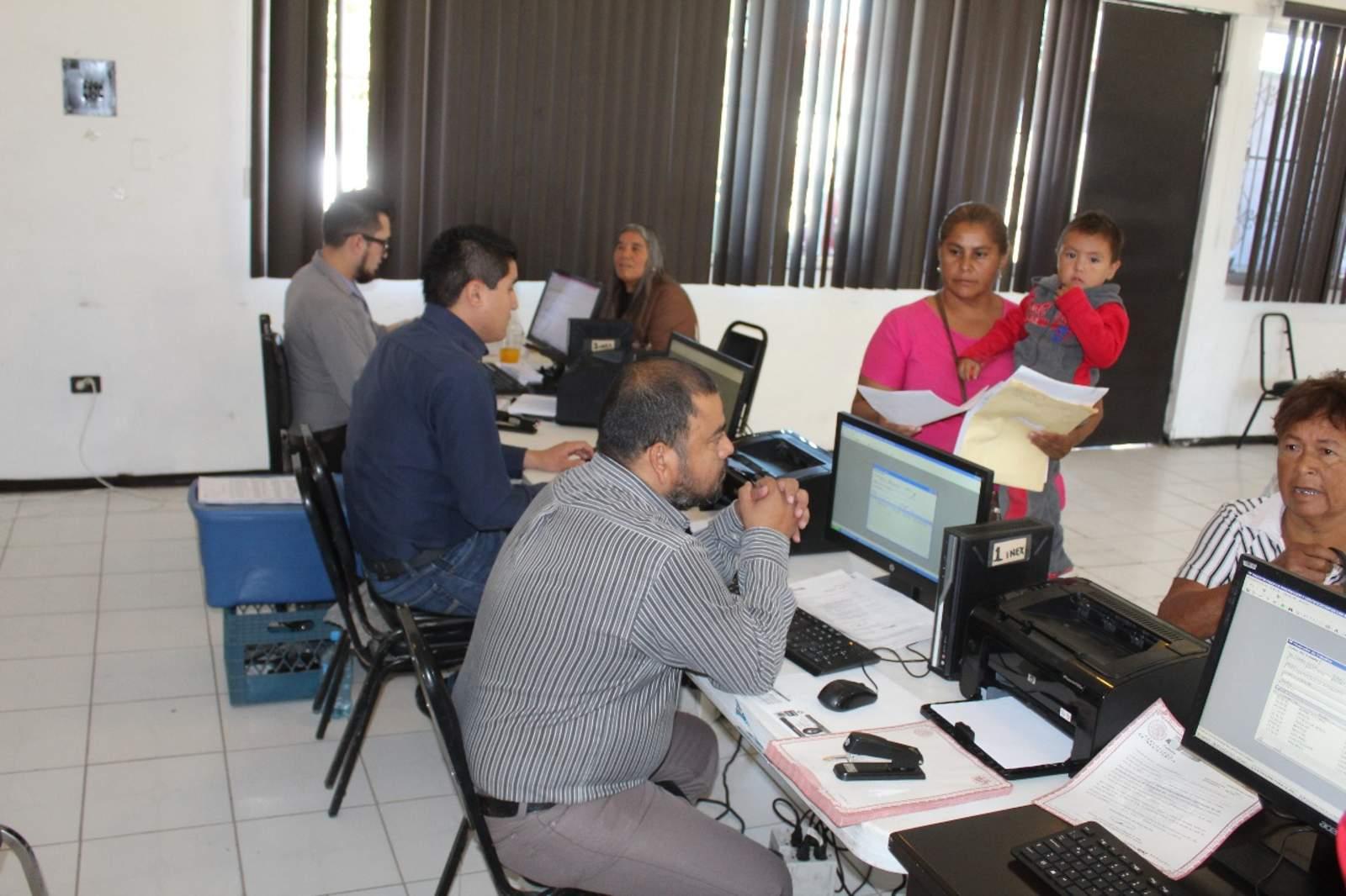 Inician brigada de registro civil en San Pedro